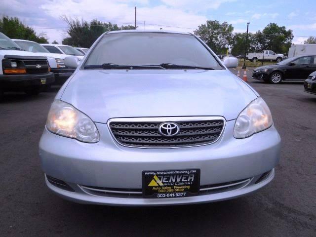 2006 Toyota Corolla for sale at Denver Auto Company in Parker CO