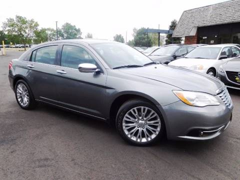 2013 Chrysler 200 for sale at Denver Auto Company in Parker CO