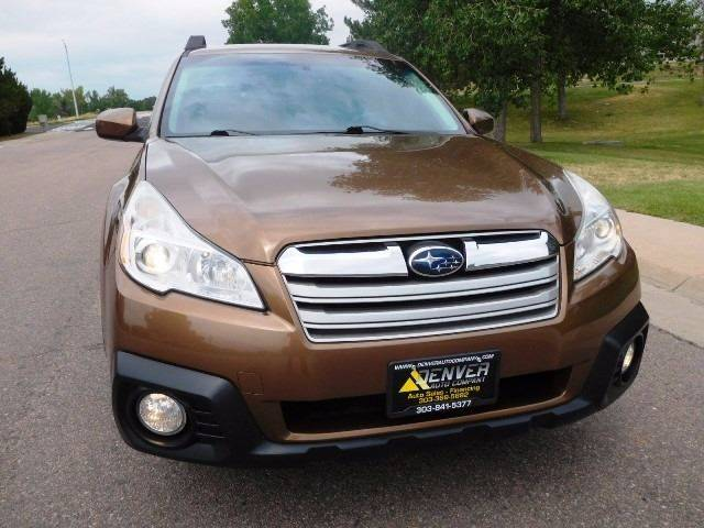 2013 Subaru Outback for sale at Denver Auto Company in Parker CO