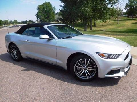 2016 Ford Mustang for sale at Denver Auto Company in Parker CO