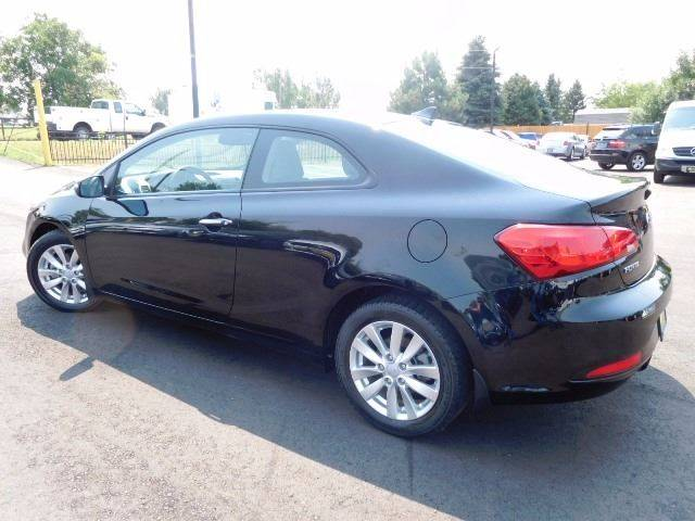 2015 Kia Forte Koup for sale at Denver Auto Company in Parker CO