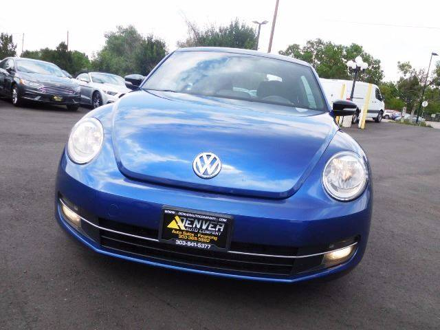 2012 Volkswagen Beetle for sale at Denver Auto Company in Parker CO