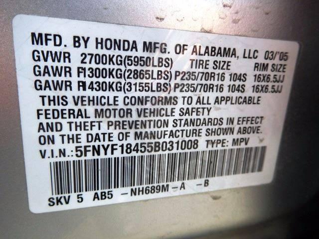 2005 Honda Pilot for sale at Denver Auto Company in Parker CO