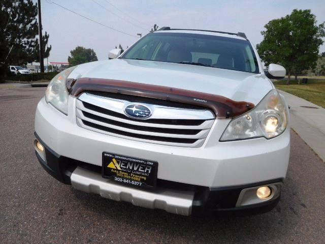 2010 Subaru Outback for sale at Denver Auto Company in Parker CO