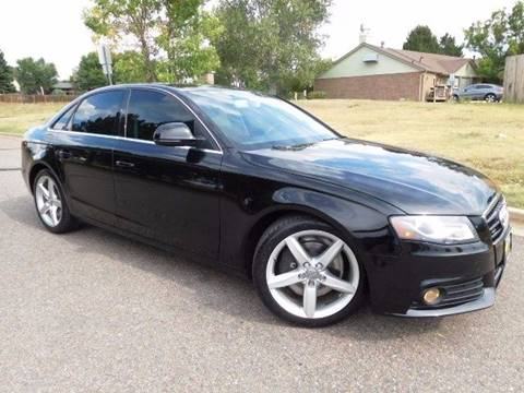 2009 Audi A4 for sale at Denver Auto Company in Parker CO