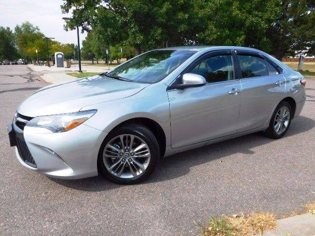 2016 Toyota Camry for sale at Denver Auto Company in Parker CO