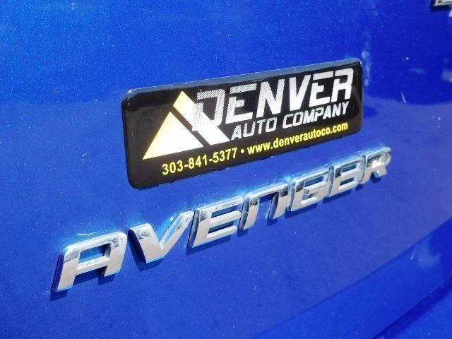 2013 Dodge Avenger for sale at Denver Auto Company in Parker CO