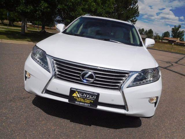 2014 Lexus RX 350 for sale at Denver Auto Company in Parker CO