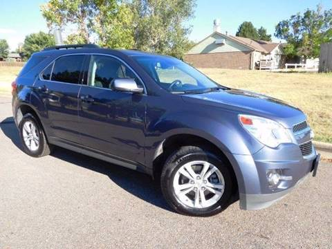 2013 Chevrolet Equinox for sale at Denver Auto Company in Parker CO