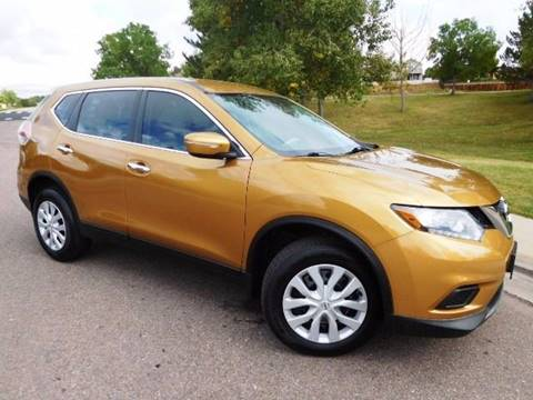 2014 Nissan Rogue for sale at Denver Auto Company in Parker CO