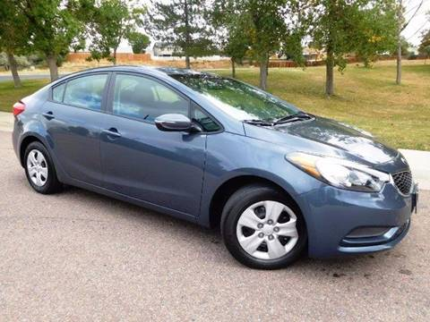 2016 Kia Forte for sale at Denver Auto Company in Parker CO