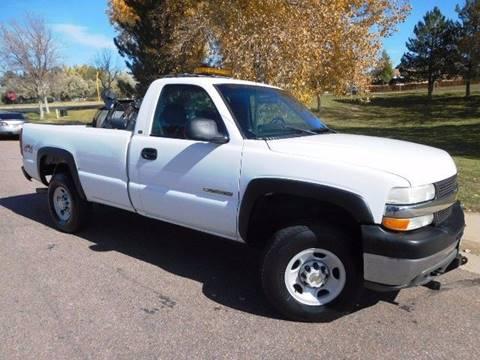 2001 Chevrolet Silverado 2500HD for sale in Parker, CO