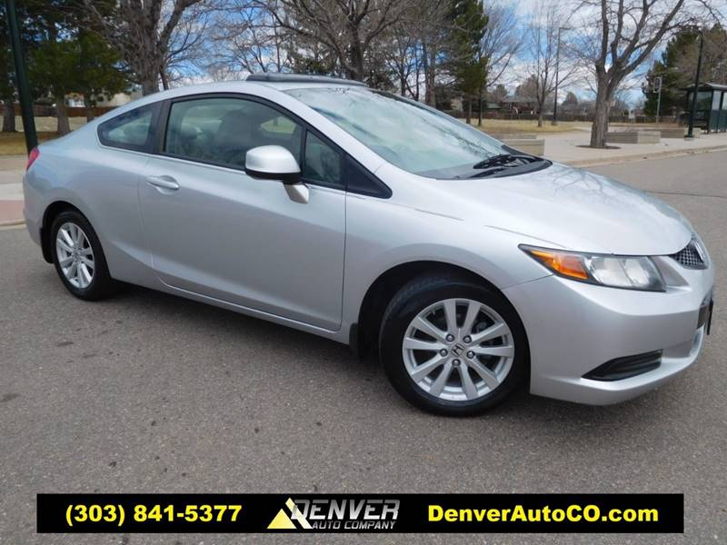2012 Honda Civic For Sale At Denver Auto Company In Parker CO
