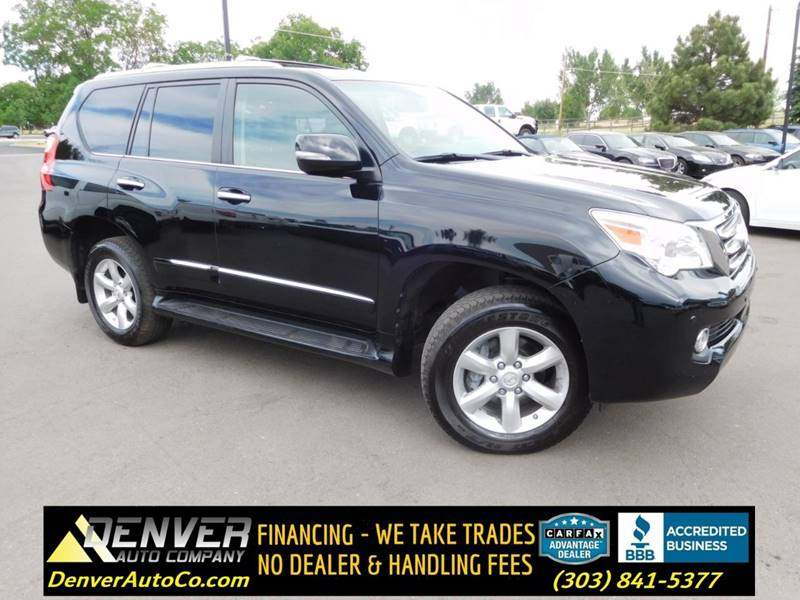 2012 Lexus GX 460 For Sale At Denver Auto Company In Parker CO