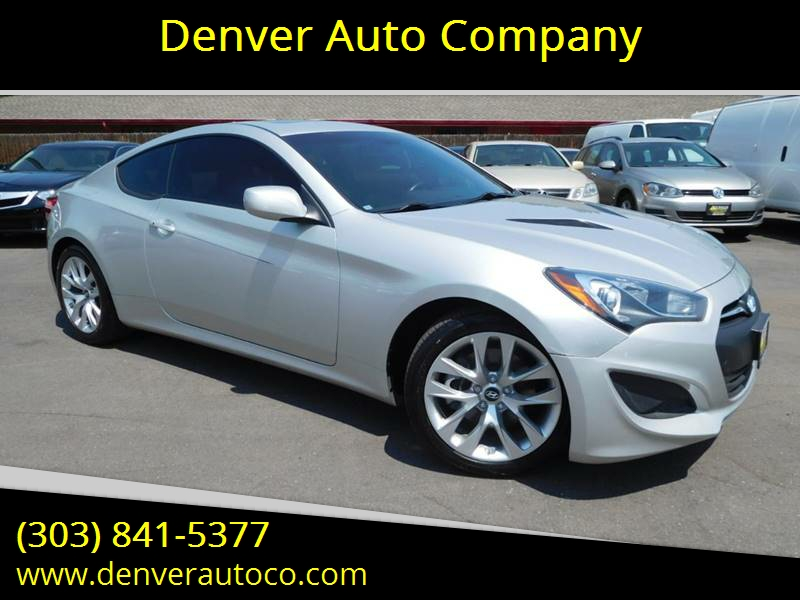2013 Hyundai Genesis Coupe For Sale At Denver Auto Company In Parker CO