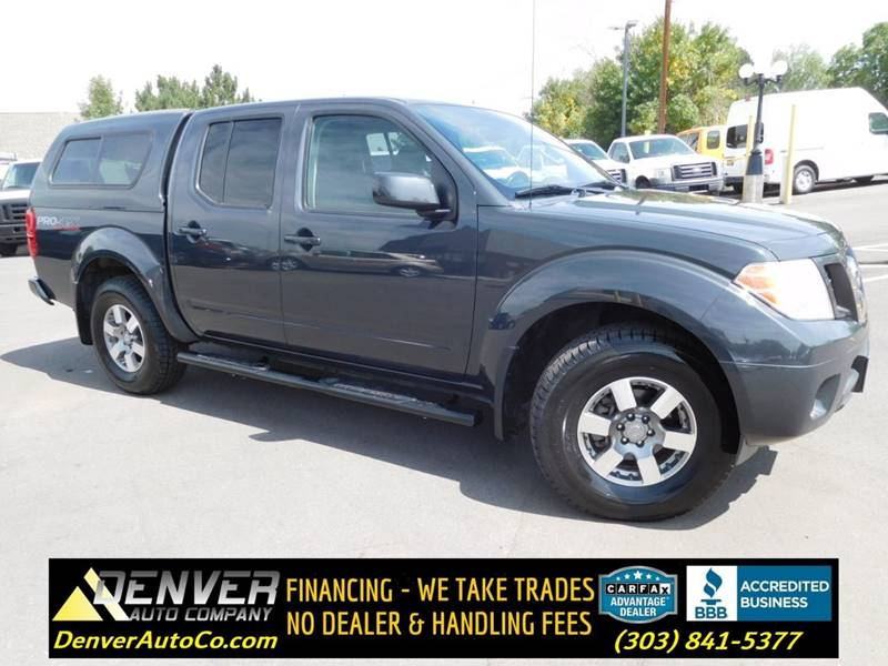 2012 Nissan Frontier For Sale At Denver Auto Company In Parker CO