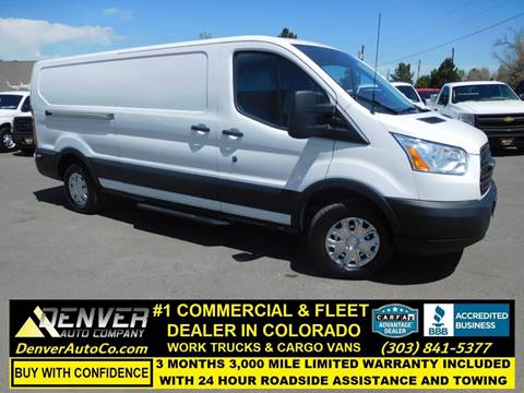 2015 Ford Transit Cargo for sale in Parker, CO
