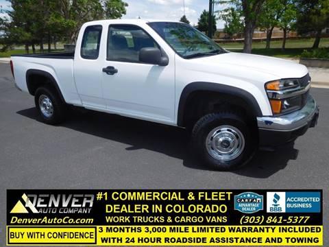 Chevrolet Colorado For Sale in Parker, CO - Denver Auto Company