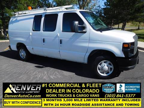 Work Van For Sale >> 2008 Ford E Series Cargo For Sale In Parker Co