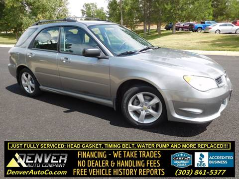 Subaru For Sale in Parker, CO - Denver Auto Company
