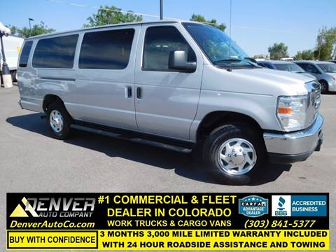 2013 Ford E-Series Wagon for sale in Parker, CO