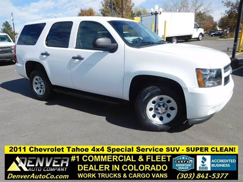 2011 Chevrolet Tahoe for sale in Parker, CO