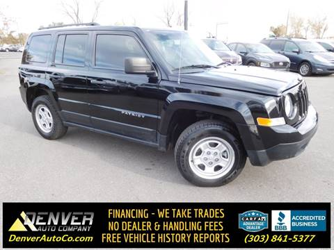 2017 Jeep Patriot for sale in Parker, CO