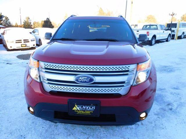 2011 Ford Explorer for sale at Denver Auto Company in Parker CO
