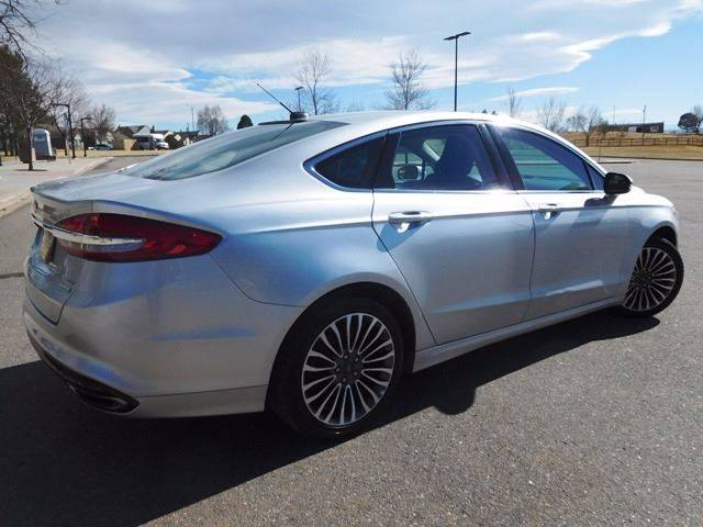 2017 Ford Fusion for sale at Denver Auto Company in Parker CO