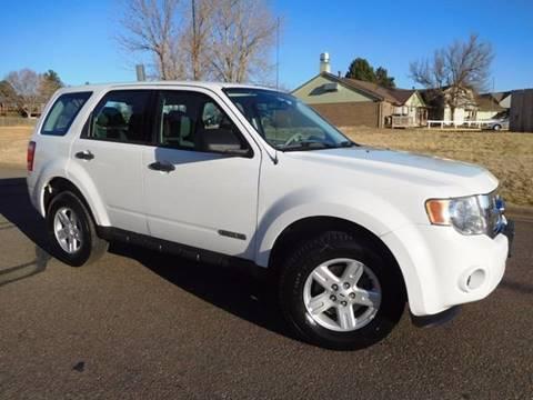2008 Ford Escape for sale at Denver Auto Company in Parker CO