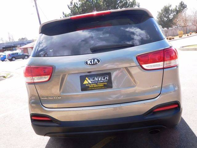 2016 Kia Sorento for sale at Denver Auto Company in Parker CO