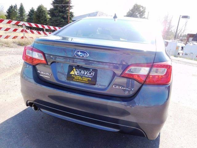 2016 Subaru Legacy for sale at Denver Auto Company in Parker CO