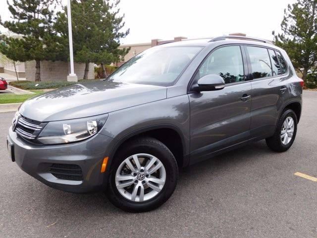 2016 Volkswagen Tiguan for sale at Denver Auto Company in Parker CO