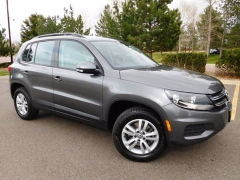 2016 Volkswagen Tiguan for sale at Denver Auto Company in Parker CO