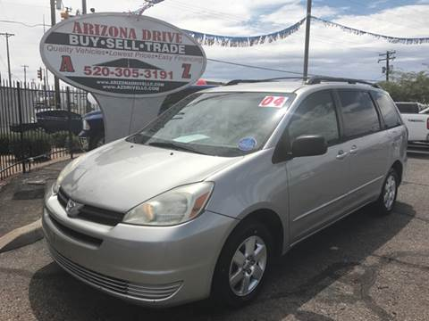 2004 Toyota Sienna for sale at Arizona Drive LLC in Tucson AZ
