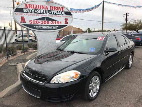 2012 Chevrolet Impala for sale at Arizona Drive LLC in Tucson AZ