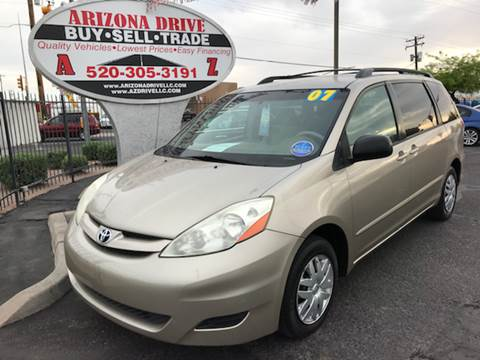 2007 Toyota Sienna for sale at Arizona Drive LLC in Tucson AZ