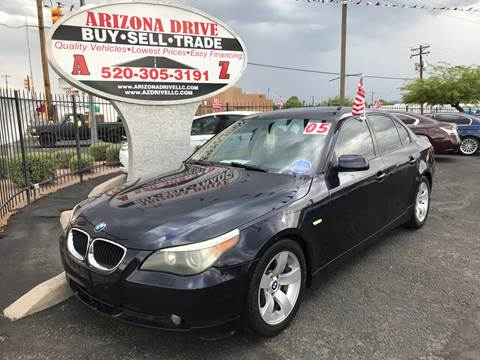 2005 BMW 5 Series for sale at Arizona Drive LLC in Tucson AZ