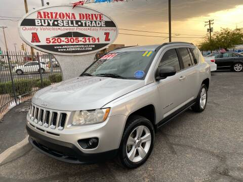 2011 Jeep Compass for sale at Arizona Drive LLC in Tucson AZ