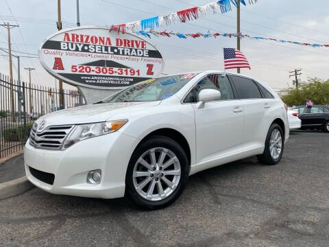 2010 Toyota Venza for sale at Arizona Drive LLC in Tucson AZ