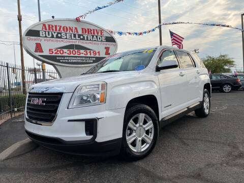 2016 GMC Terrain for sale at Arizona Drive LLC in Tucson AZ