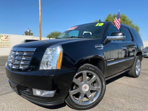 2010 Cadillac Escalade for sale at Arizona Drive LLC in Tucson AZ