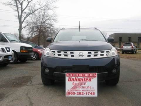 2003 Nissan Murano for sale at Unlimited Auto Sales & Detailing, LLC in Windsor Locks CT