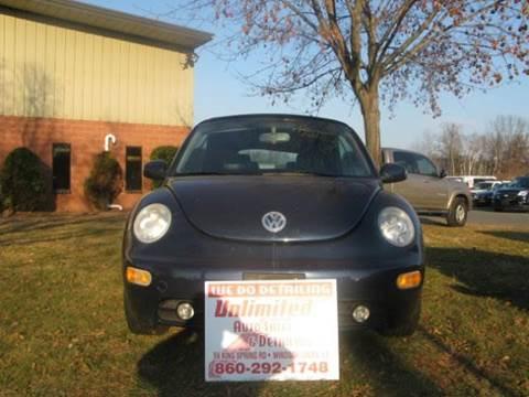 2005 Volkswagen Beetle for sale at Unlimited Auto Sales & Detailing, LLC in Windsor Locks CT