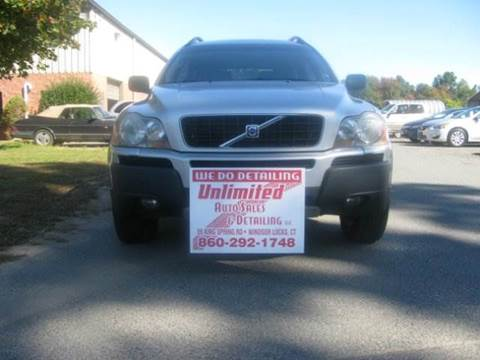 2005 Volvo XC90 for sale at Unlimited Auto Sales & Detailing, LLC in Windsor Locks CT