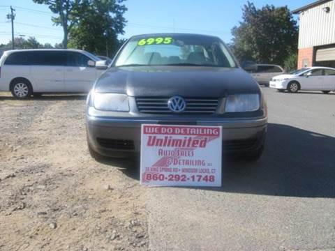2004 Volkswagen Jetta for sale at Unlimited Auto Sales & Detailing, LLC in Windsor Locks CT