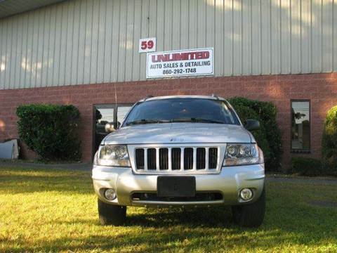 2004 Jeep Grand Cherokee for sale at Unlimited Auto Sales & Detailing, LLC in Windsor Locks CT