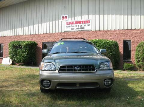2004 Subaru Outback for sale at Unlimited Auto Sales & Detailing, LLC in Windsor Locks CT