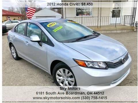 2012 Honda Civic For Sale In Boardman, OH