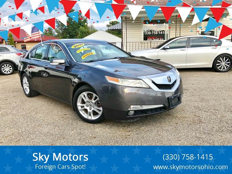 2010 Acura Tl For Sale >> Acura Used Cars Financing For Sale Boardman Sky Motors